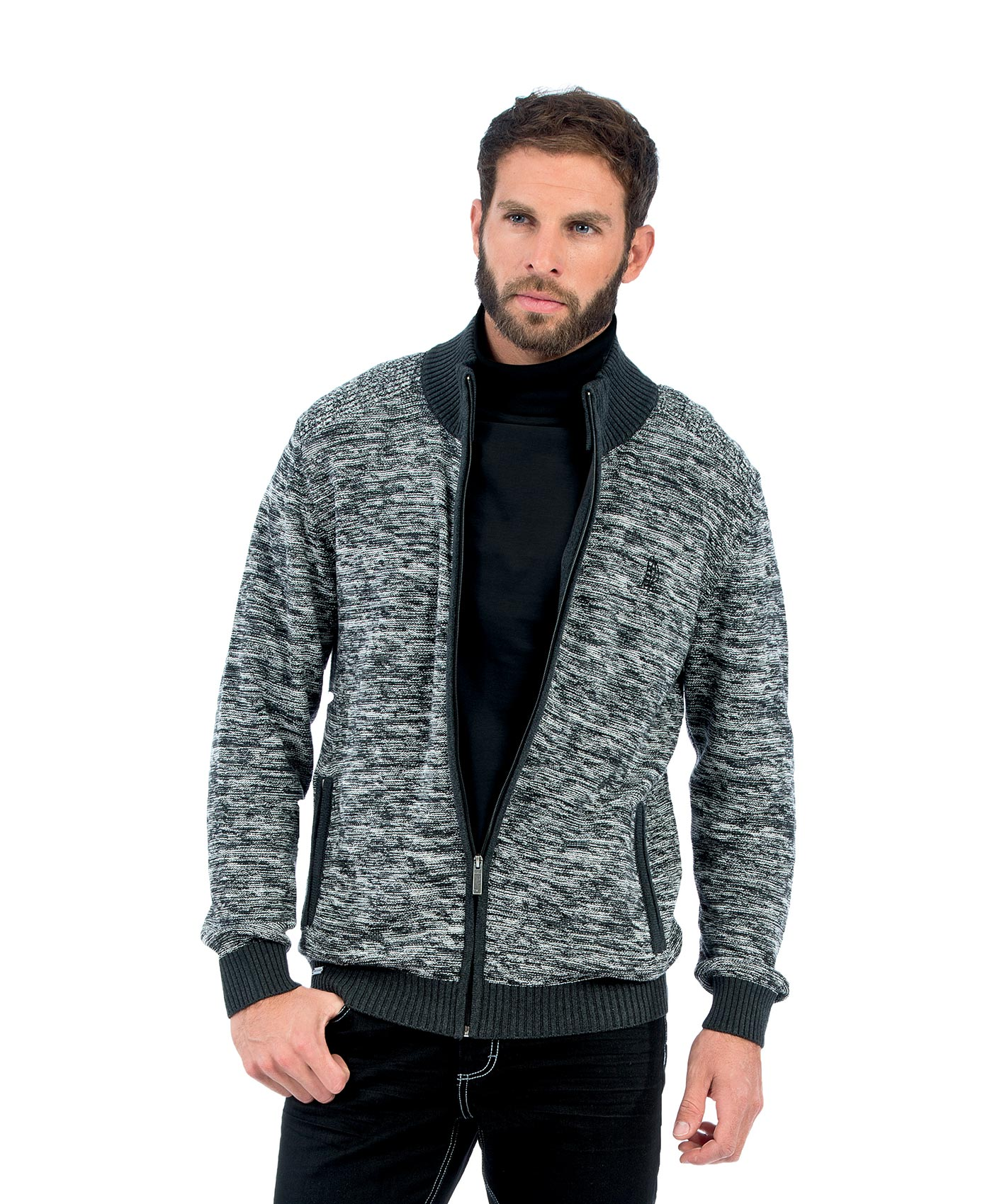 cardigan homme gris chin pull cardigan sweat mode homme terre de marins. Black Bedroom Furniture Sets. Home Design Ideas