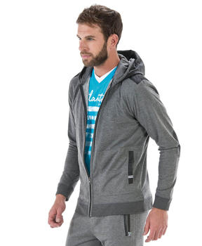 Cardigan homme gris chiné anthracite - Mode marine Homme