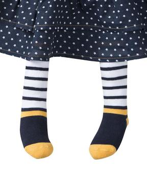 Collants bébé fille bleu regate - Mode marine Bébé fille