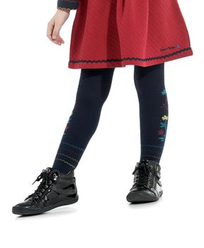 Collants fille rayé - Mode marine Enfant fille