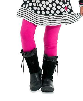 Legging fille rose vif - Mode marine Enfant fille